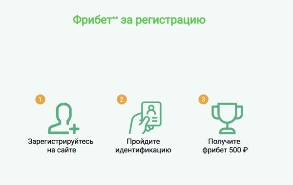 Лига Ставок: Фрибет 500 рублей