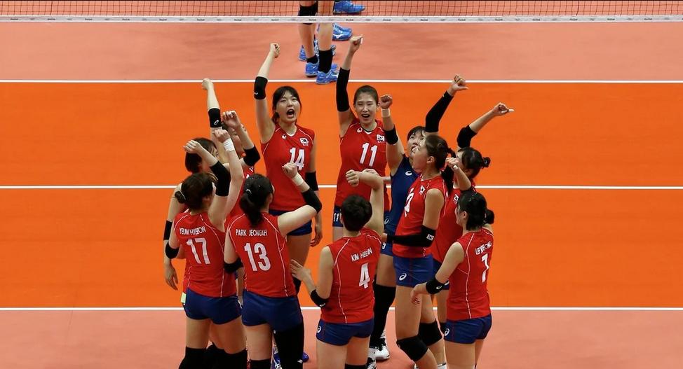 Сборная Кореи по волейболу