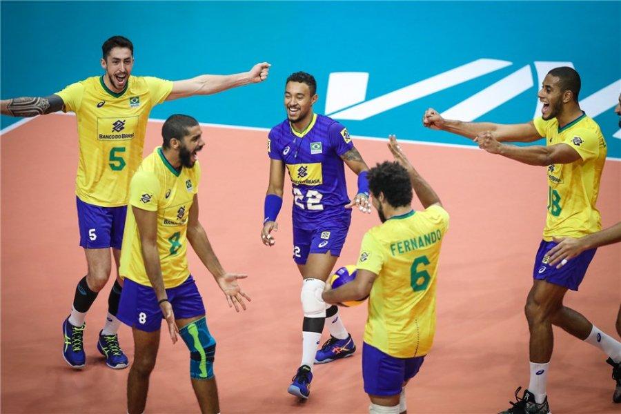 уефа 2019 волейбол сборная бразилии