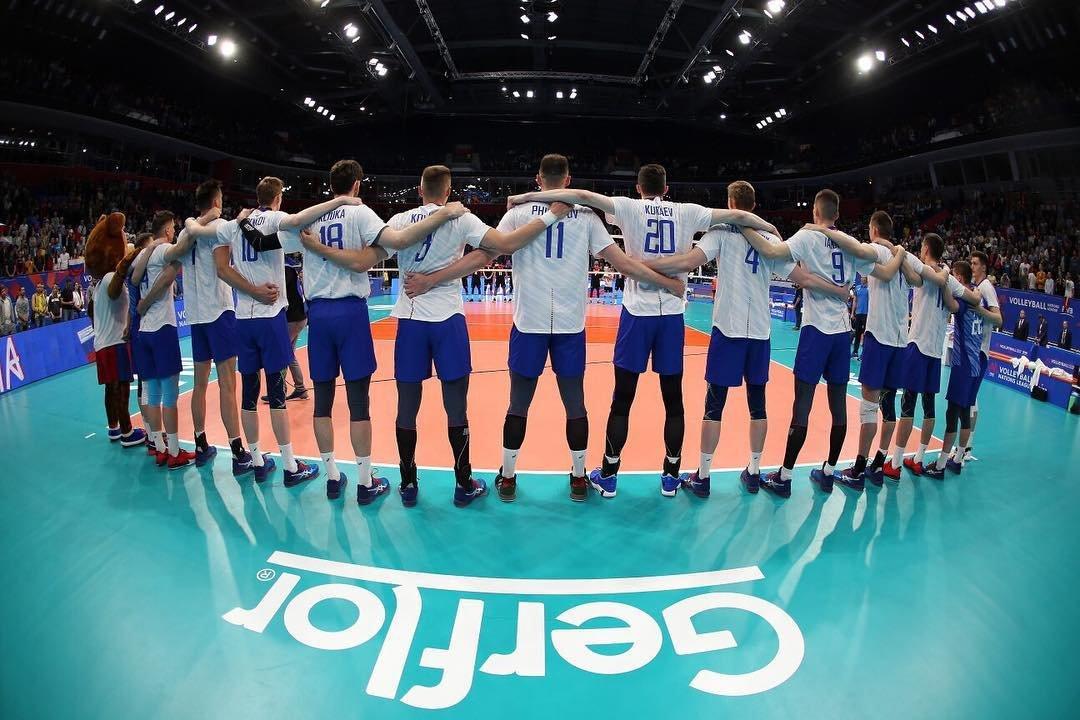 уефа 2019 волейбол сборная россии