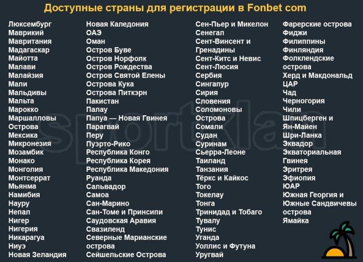 фонбет синий сайт регистрация