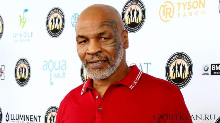 Тайсон планирует вернуться на ринг