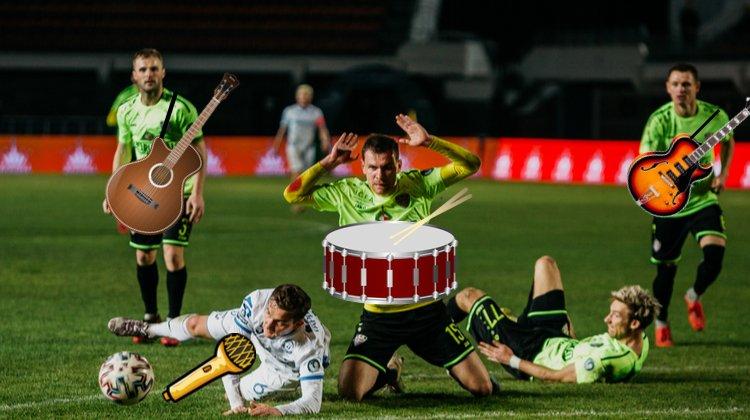Белорусские футболисты – рок-звёзды. Кто пойдёт на повышение?
