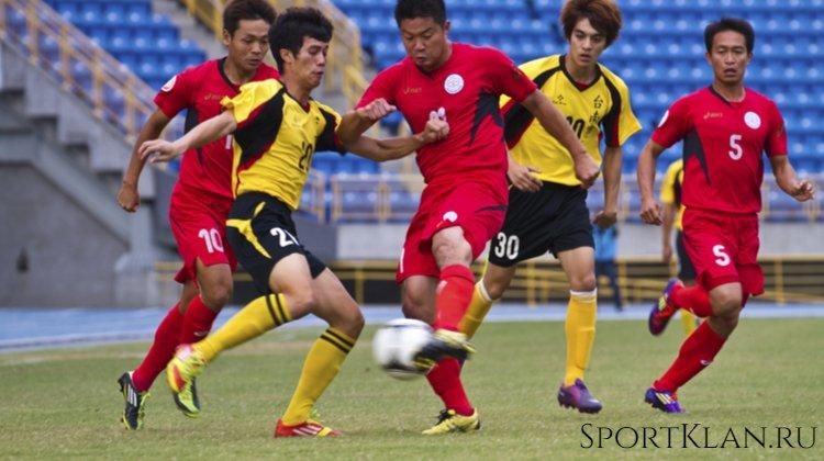 Чемпионат по футболу в Тайване (возле Китая)