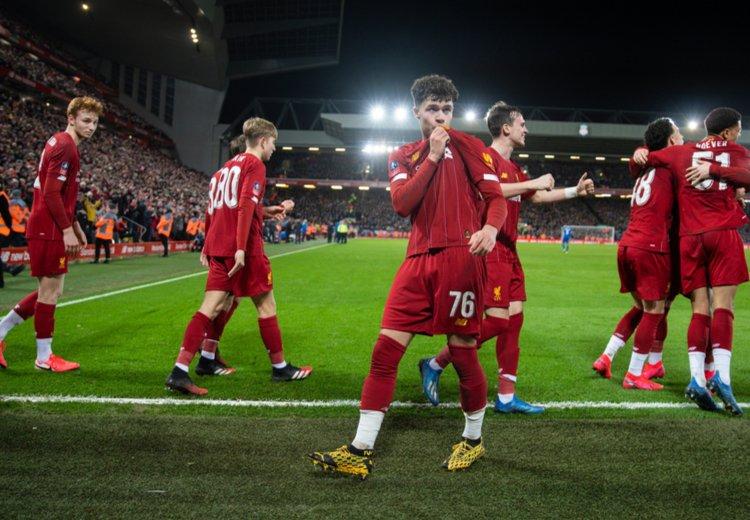 Молодёжный Кубок Англии Ливерпуль