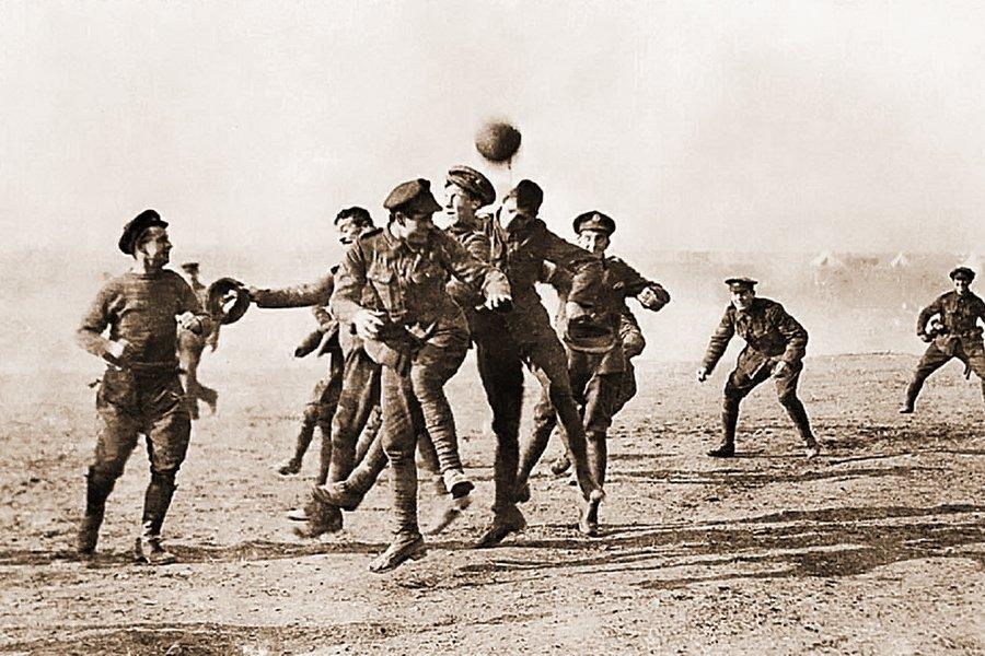 война футбол