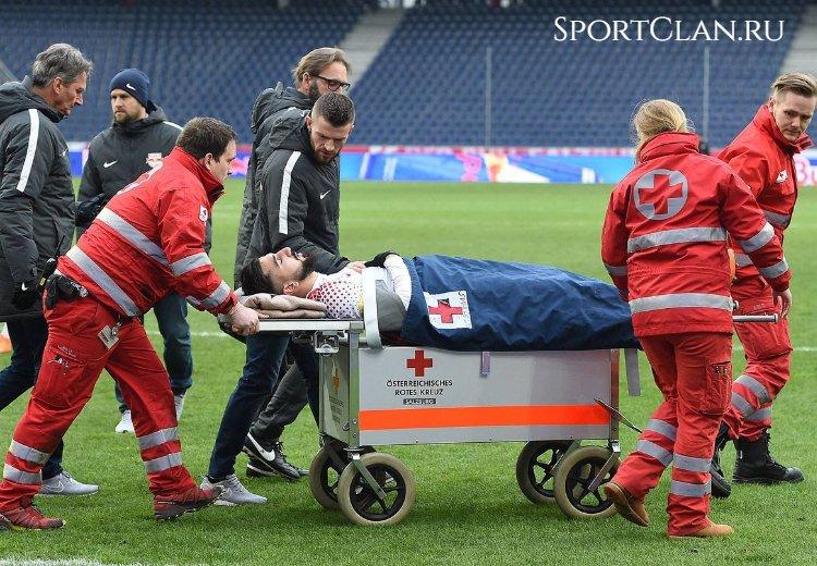 футбол травма