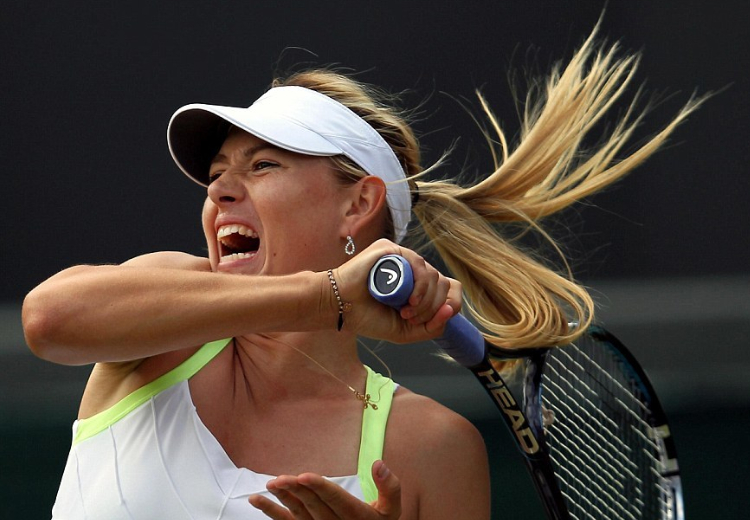 шарапова, теннис