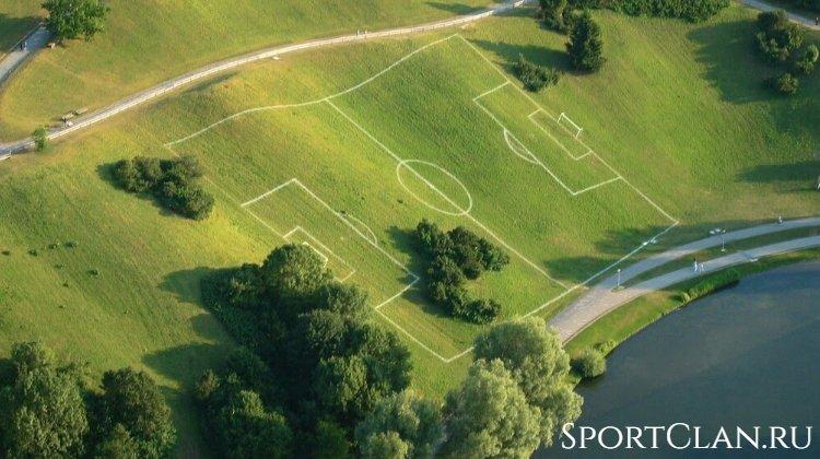 ТОП 10 удивительных футбольных стадионов