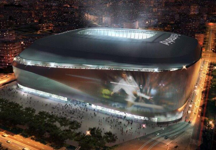 Сантьяго Бернабеу стадион