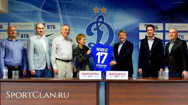 Марафонбет не продлевает контракт с Динамо. Соловьёв доволен?