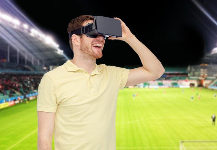 виртуальная реальность очки футбол3