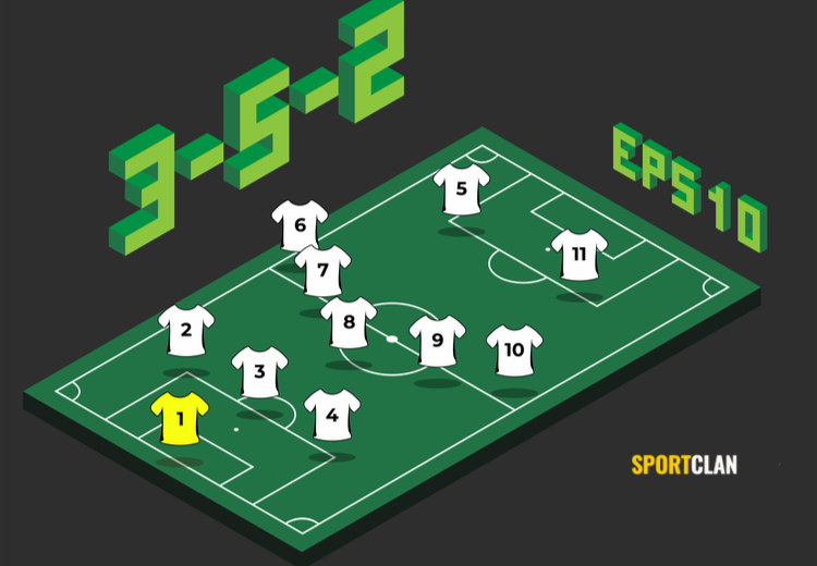 3 5 2 схема футбол
