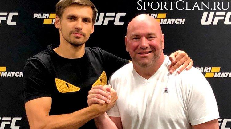 Show must go on. Партнерство Париматч и UFC продолжается!