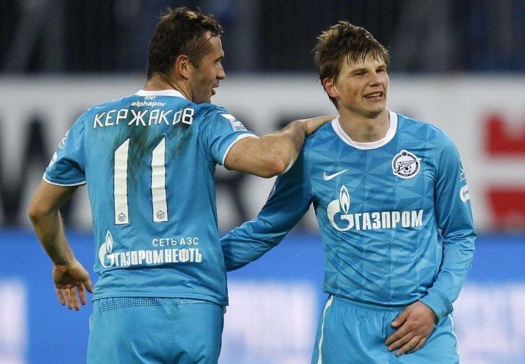 Кержаков и Аршавин