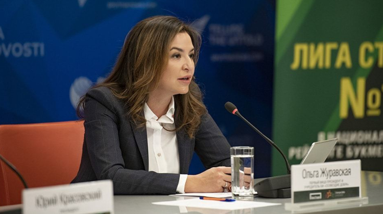 Ольга Журавская Лига Ставок