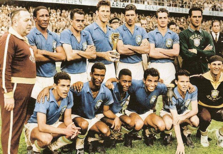 Сборная Бразилии Чемпионы мира по футболу 1958