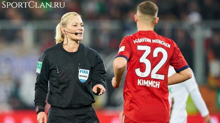 Лучшие девушки-судьи в мужском футболе