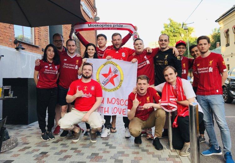 The MosKopites ливерпуль фанаты