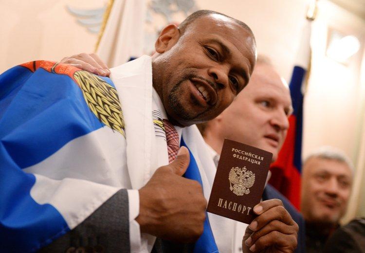 рой джонс российское гражданство