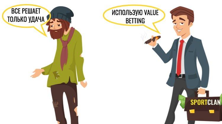 Обыграть букмекера с Value betting. Что такое валуйные ставки?