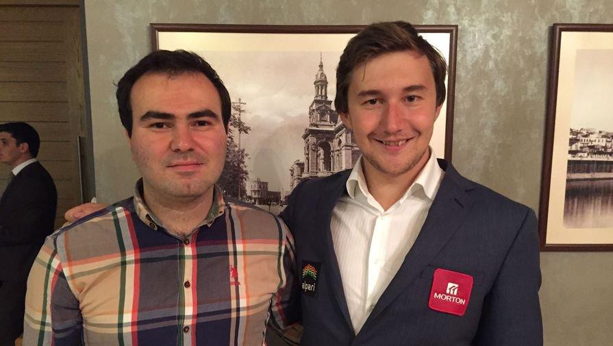 Шахрияра Мамедьярова и Сергея Карякина обвинили в договорняках