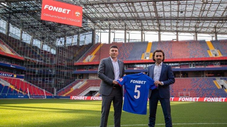 Фонбет — новый официальный спонсор ПФК ЦСКА