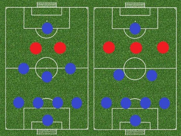 схема 4 3 1 2 в футболе и тактика