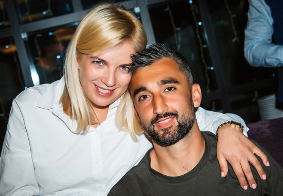 Алесандр Самедов и жена