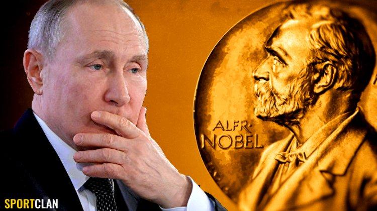 Путин. Нобелевская премия. Букмекеры