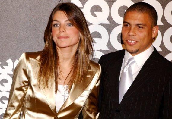 Роналдо с девушкой
