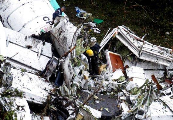 «Шапекоэнсе» разбитый самолет