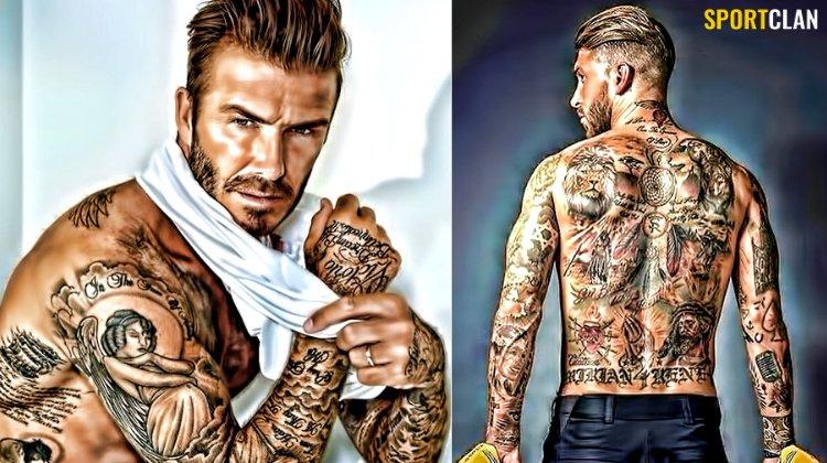 ТОП-7 татуированных футболистов