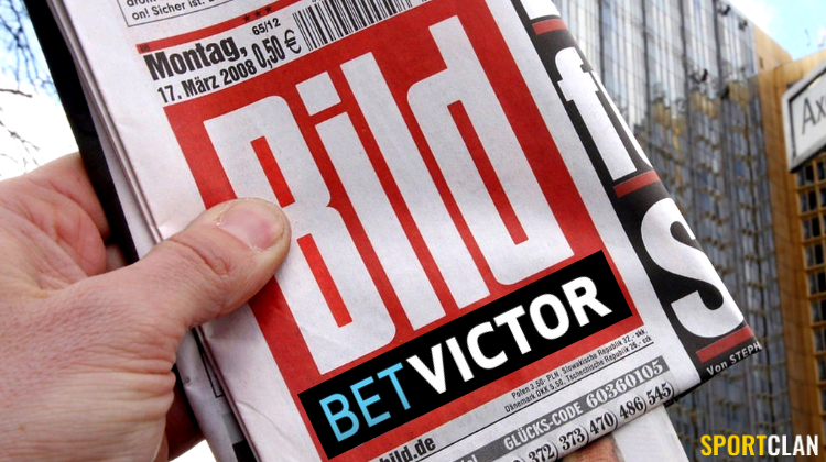 BetVictor + газета Bild = онлайн-букмекер
