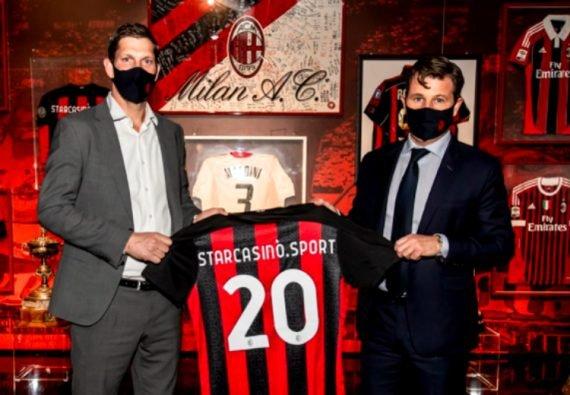 Starcasino (Betsson) и Милан