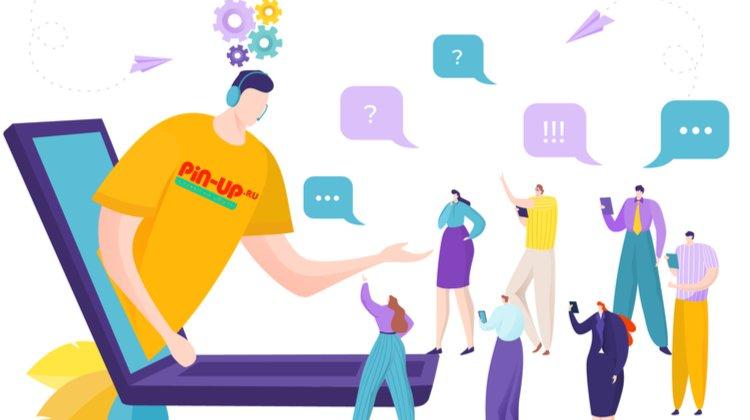 Поддержка игроков Pin-Up.ru