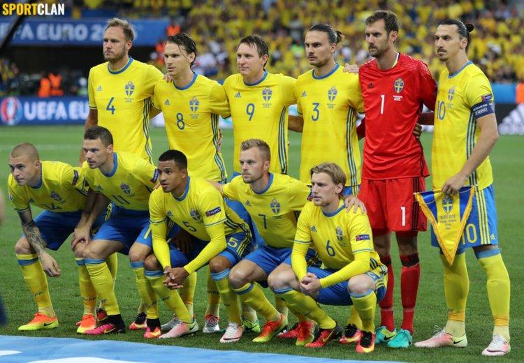 сборная Швеции футбол