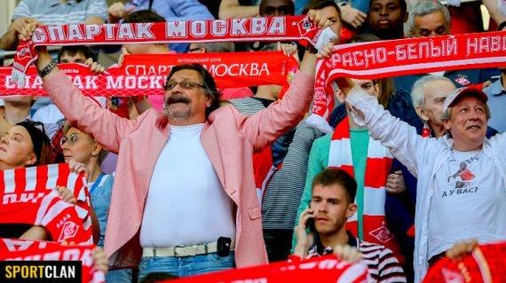 звездные болельщики Спартака
