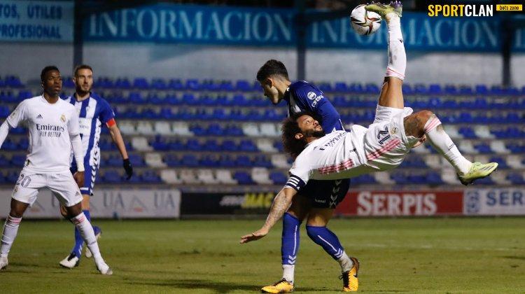 «Реал» вылетел из Кубка Испании, проиграв «Алькояно» из 3-го дивизиона