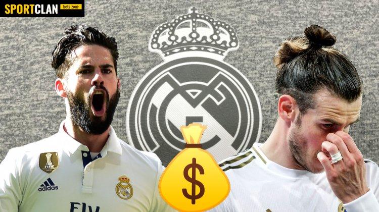 «Реал» рассчитывает продать Бейла и Иско этим летом