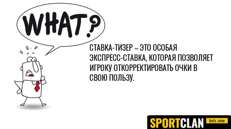 Что такое тизер в ставках на спорт?