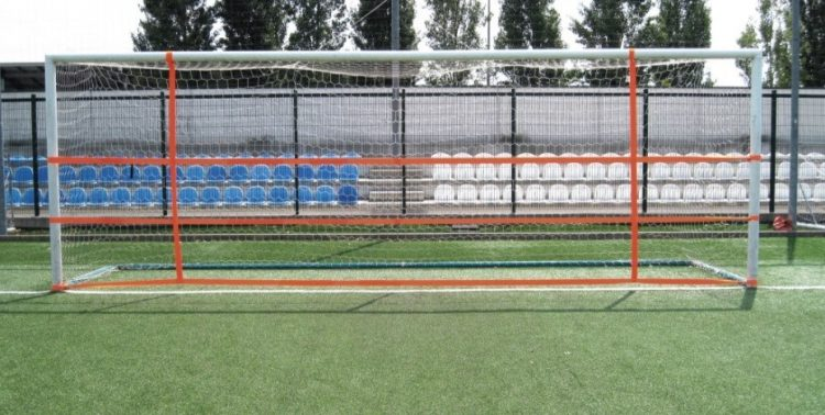 деление футбольных ворот на зоны