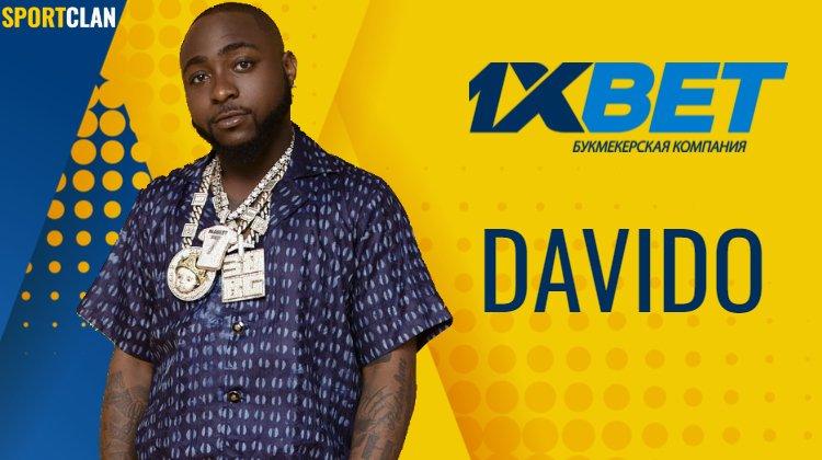 Один из самых влиятельных музыкантов Африки Давидо представлен как амбассадор 1xBet