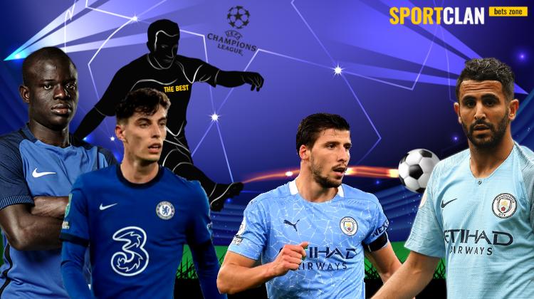 Игроки «Челси» и «Манчестер Сити» борются за звание лучшего по итогам недели в ЛЧ