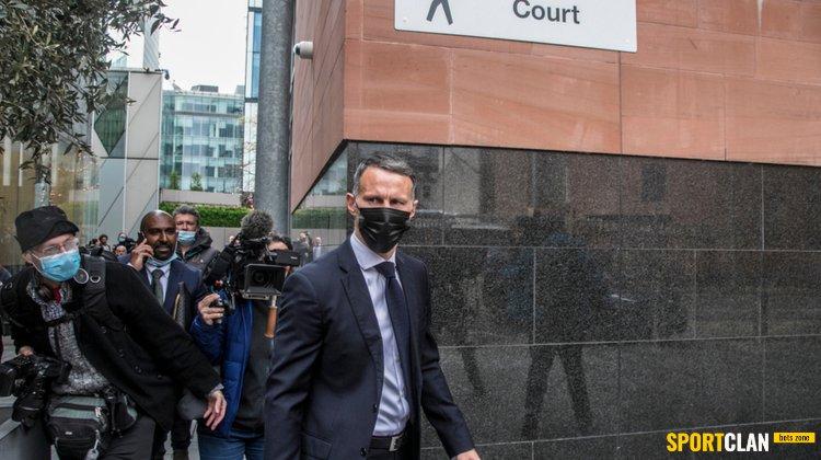 Райан Гиггз на втором заседании суда вновь отрицает свою вину в избиении двух женщин