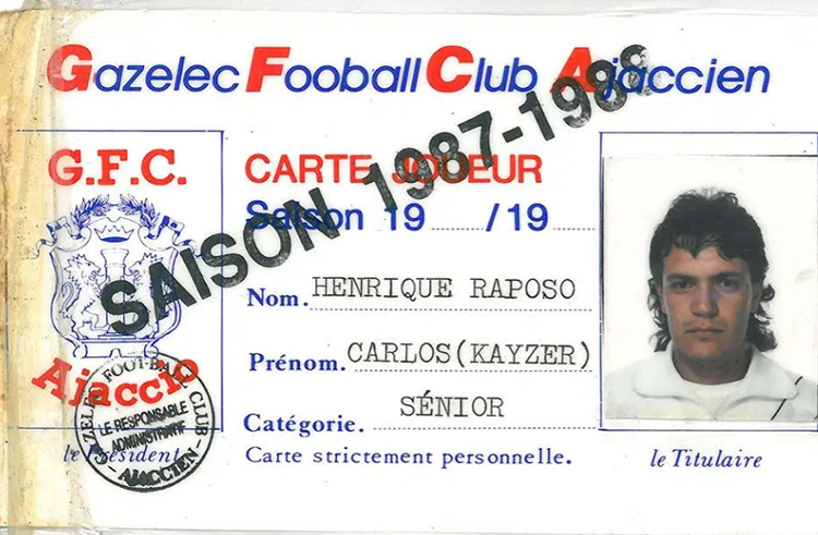 Карлос Кайзер в футбольном клубе Аяччо