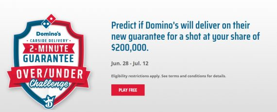БК DraftKings И Domino's пицца