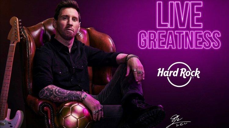 Лионель Месси стал амбассадором компании Hard Rock International, владеющей казино