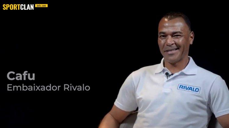 Амбассадором БК Rivalo стал двукратный чемпион мира и легенда сборной Бразилии Кафу
