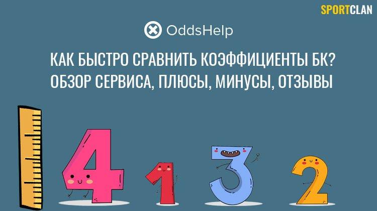 Oddshelp (Oddsfair): обзор сервиса сравнения коэффициентов